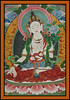 White Tara - female deity of the Buddhist Buddhisatwa, Thimpu. Bhutan