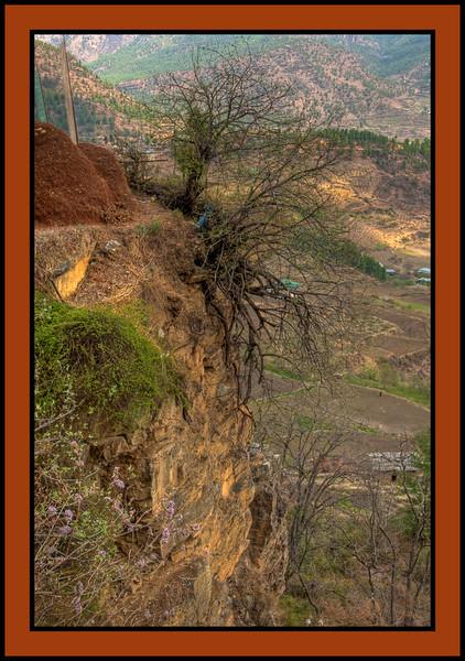 Dzongdrakha Temple environs
