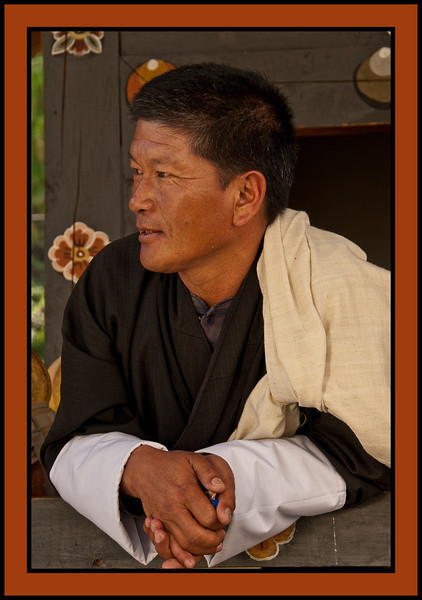 Jurmin - our guide, Bhutan.