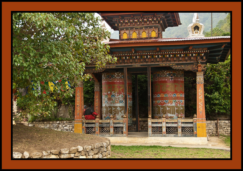 Khamsum Yuelly Namgyai Corten - built by the current king's mother to honor her son.