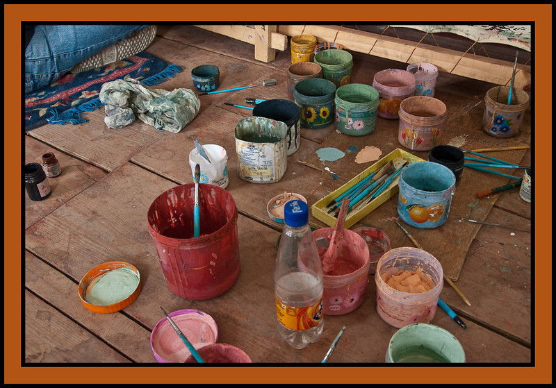 Painting Workshop, Thimpu. Bhutan