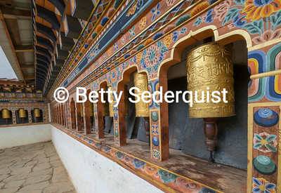 Prayer Wheels, Gangley Dzong
