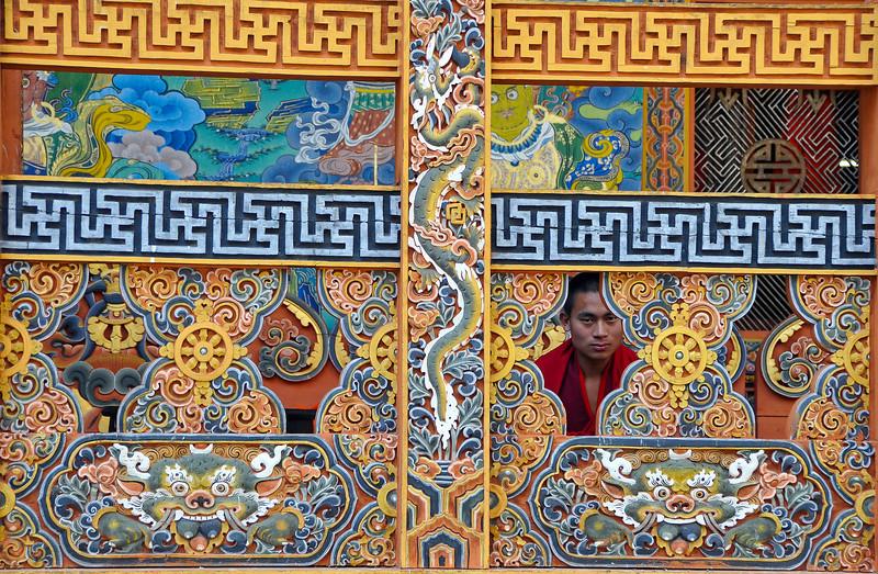 hidden monk