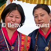 Cousins Pose for the Camera at a Paro Festival, Bhutan