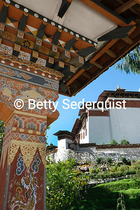 Architectural Detail, Trongsa Dzong
