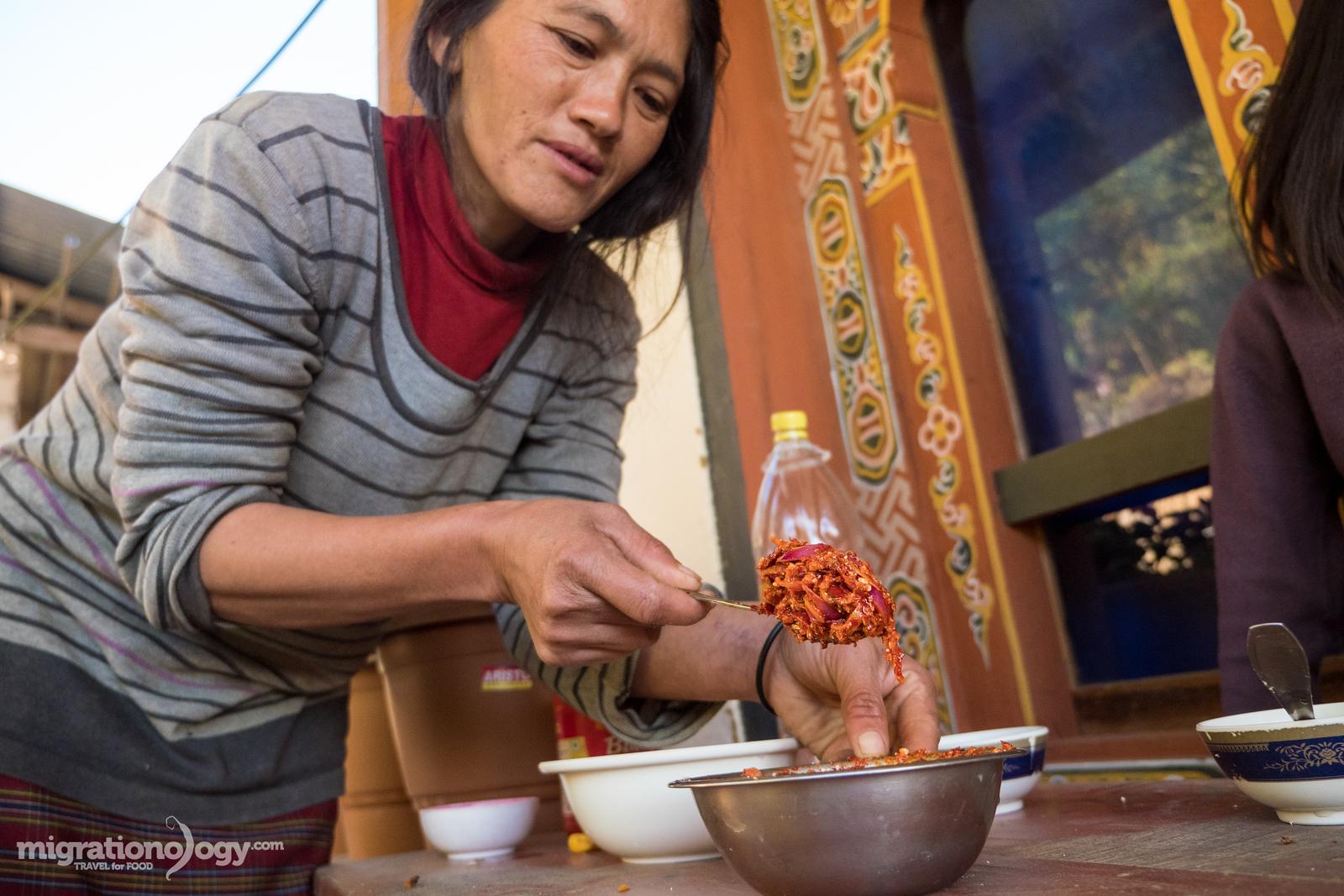 Bhutanese food guide