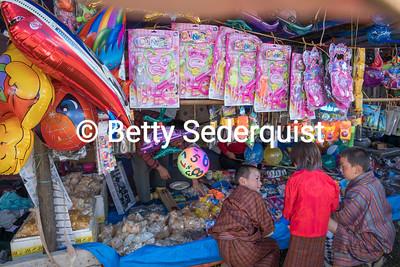 Toy Stall at Tamshing Phala Chhoepa Festival