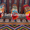 Banners at the Front of the Temple, Punakha Dzong
