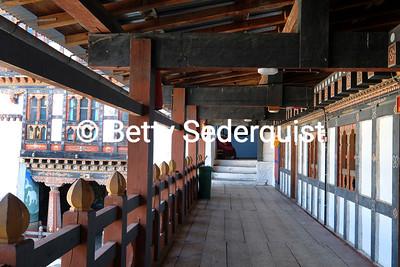 Passageway at Trongsa Dzong