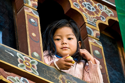 Paro-girl in windowDSC_5748