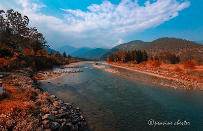 River in the Kingdom of Happiness