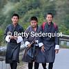 High School Students, Punakha