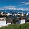 Stupas at Dochula Pass, Bhutan