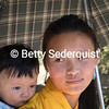 Young Mother and Child near Paro
