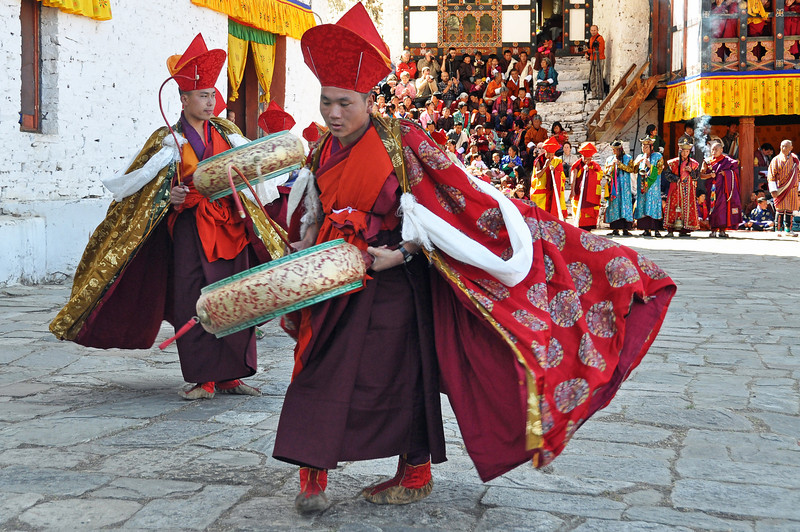 Paro Festival Dancers