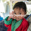 Playful Child on Bus, Bhutan