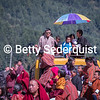 Onlookers at Fire Purification Ceremony, Tamshing Phala Chhoepa Festival, Bhutan