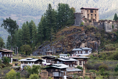 Dzong and Village