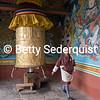 Prayer Wheel, Punakha Dzong