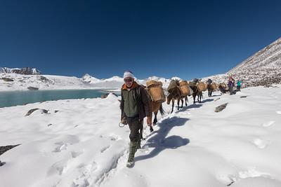 Bhutan Lunana Snowman Trek 2016