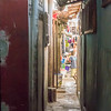 Small alleys in Biétry-Village, Abidjan, Côte d'Ivoire