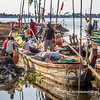 At the fishing boat landing stage of Biétry-Village, Abidjan, Côte d'Ivoire