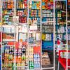 Local kiosk, Biétry-Village, Abidjan, Côte d'Ivoire