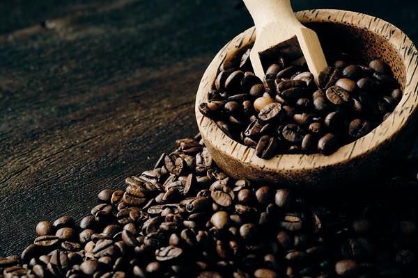 Koffiebonen met schepje #2