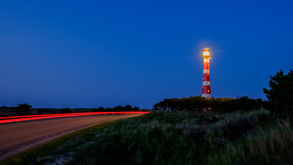 Long exposure lighthouse | Vuurtoren, lange sluitertijd v2