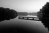 Blue hour in black and white (v2)
