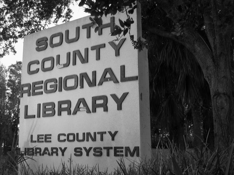 lee county libraries: south county regional library