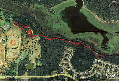 Again, where I ran while getting the White Wave photos and videos. Note I did not go: 1) on most of the multiuse above Cadillac Trail, 2) lowside K-9 Loop, 3) lowside Ravine Loop aka Bomb Option/Dead Zone area, 4) west of the Ravine over to the Gun Range Loop. With no one doing more than 2 laps, there wasn't time. I think I still got shots of nearly everyone. From this GPS track, loaded into and jpeg grabbed from Google Earth:  http://trail.motionbased.com/trail/activity/6962178