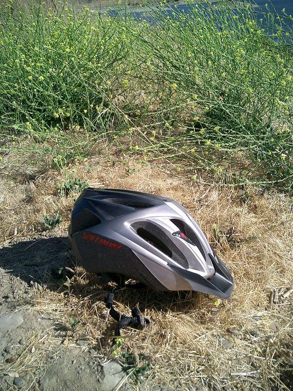 My new helmet.