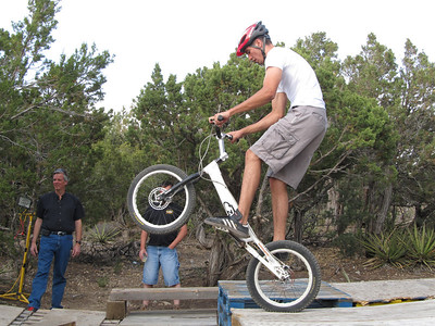 Tony Herald Birthday Party & Bicycle Trials Practice  6-4-11