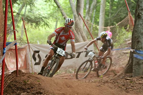 Geoff Kabush and Derek Zandstra