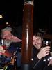 Bricktown Brewery beer bong