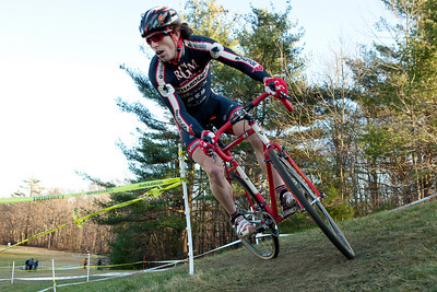 Bay State Cyclocross, Round 11 of the Verge New England Championship Cyclo-Cross Series 2009.  Held in Sterling, MA on November 28, 2009.  Photograph taken by Portland, Maine based photographer Jeff Scher.