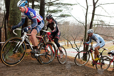 NBX Cyclocross - the Finals of the Verge New England Cyclocross Series held at Goddard Park in Warwick Rhode Island on December 5, 2009.  Photograph taken by Portland, Maine based photographer Jeff Scher.