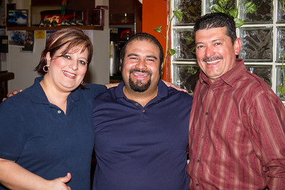 The great staff and owner of Fiesta Guadalajara. Great Mexican restaurant in Ontario.
