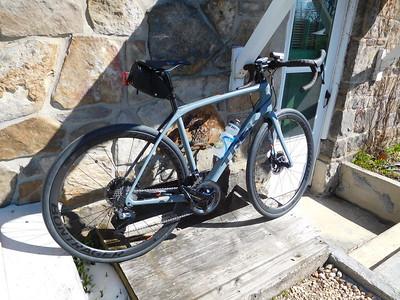 March 3, new bike
