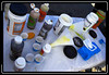 Pills, powders and potions are served up. Most riders rely on liquid nutrition for long rides.