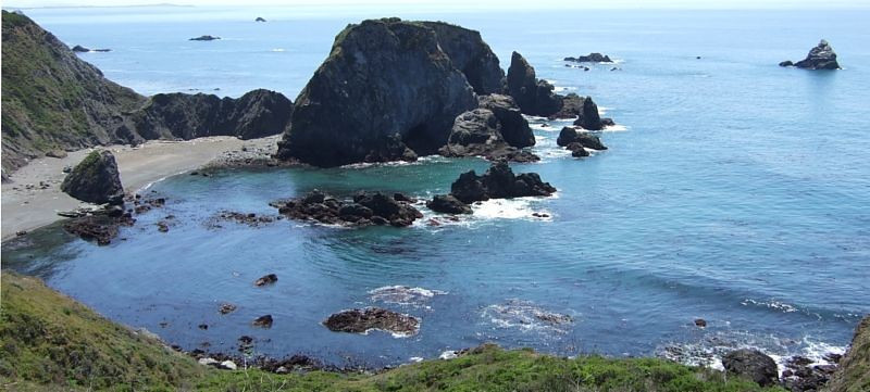 Highway 1 is dotted with views like this; but we never seem to get tired of them.