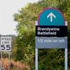 499 Battlefield Sign