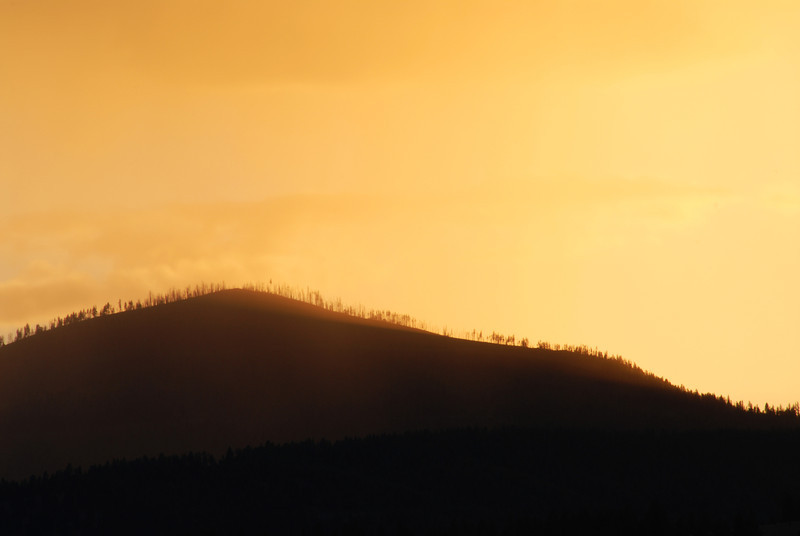 Sunset, Missoula