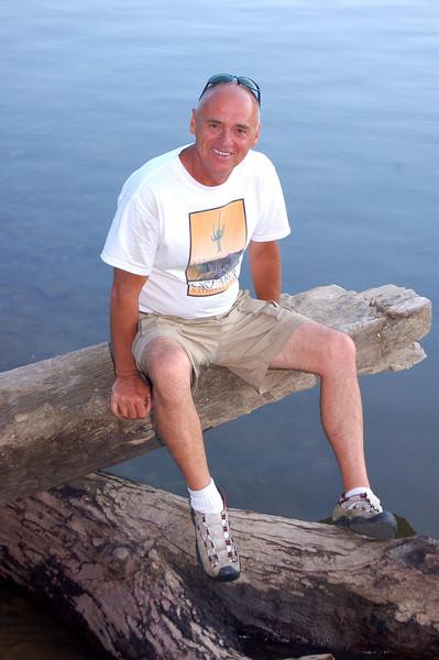 James, along the Kanahwa River. Malden, WV.