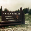 032 Cedar Breaks Sign