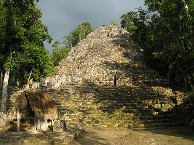 Mexico Bike to Cobá:Cenote 11:30:07 25
