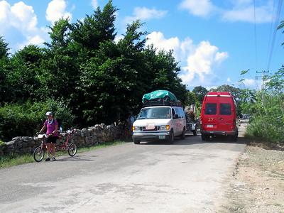 Mexico Bike to Cobá:Cenote 11:30:07 14