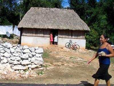 Mexico Bike to Cobá:Cenote 11:30:07 15