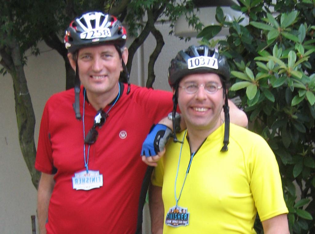 Focus fail! Bob and I happy that we did it again.